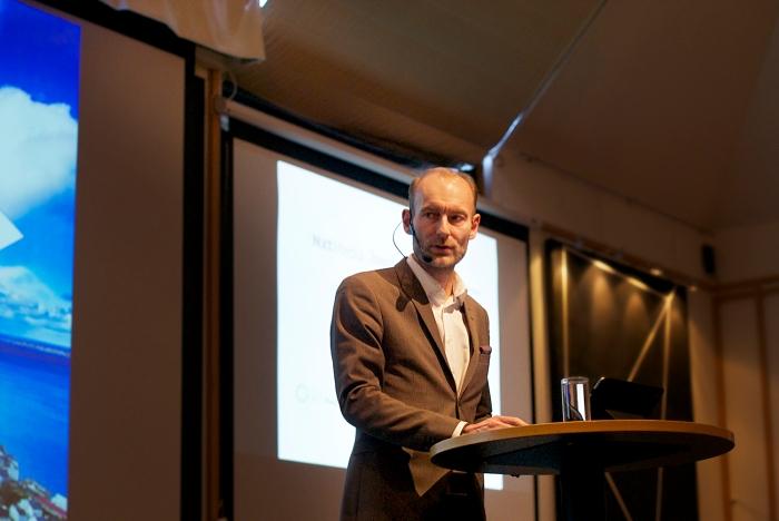 MANGE NYE STEMMER: Fritt Ord-direktør Knut Olav Åmås ser det som positivt at alle har mulighet til å slippe til i mediene. FOTO: Linn Andrea Valde